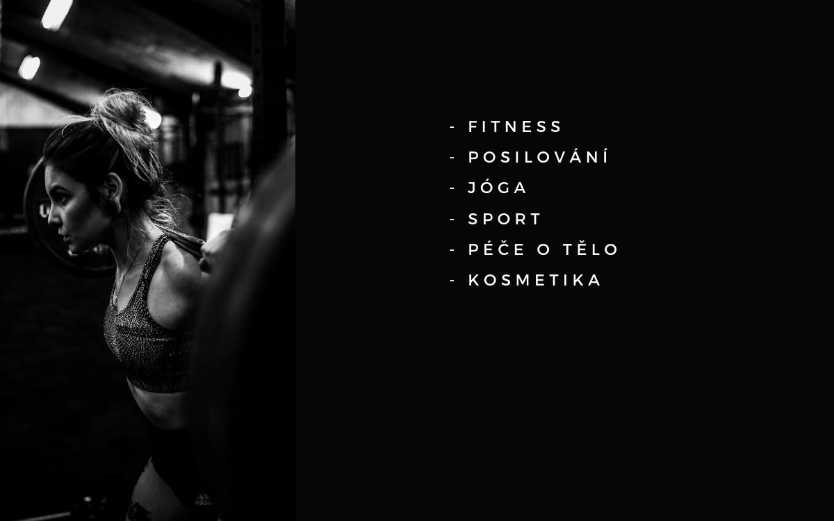 Překlady angličtiny - fitness, posilování, jóga, sport, péče o tělo, kosmetika