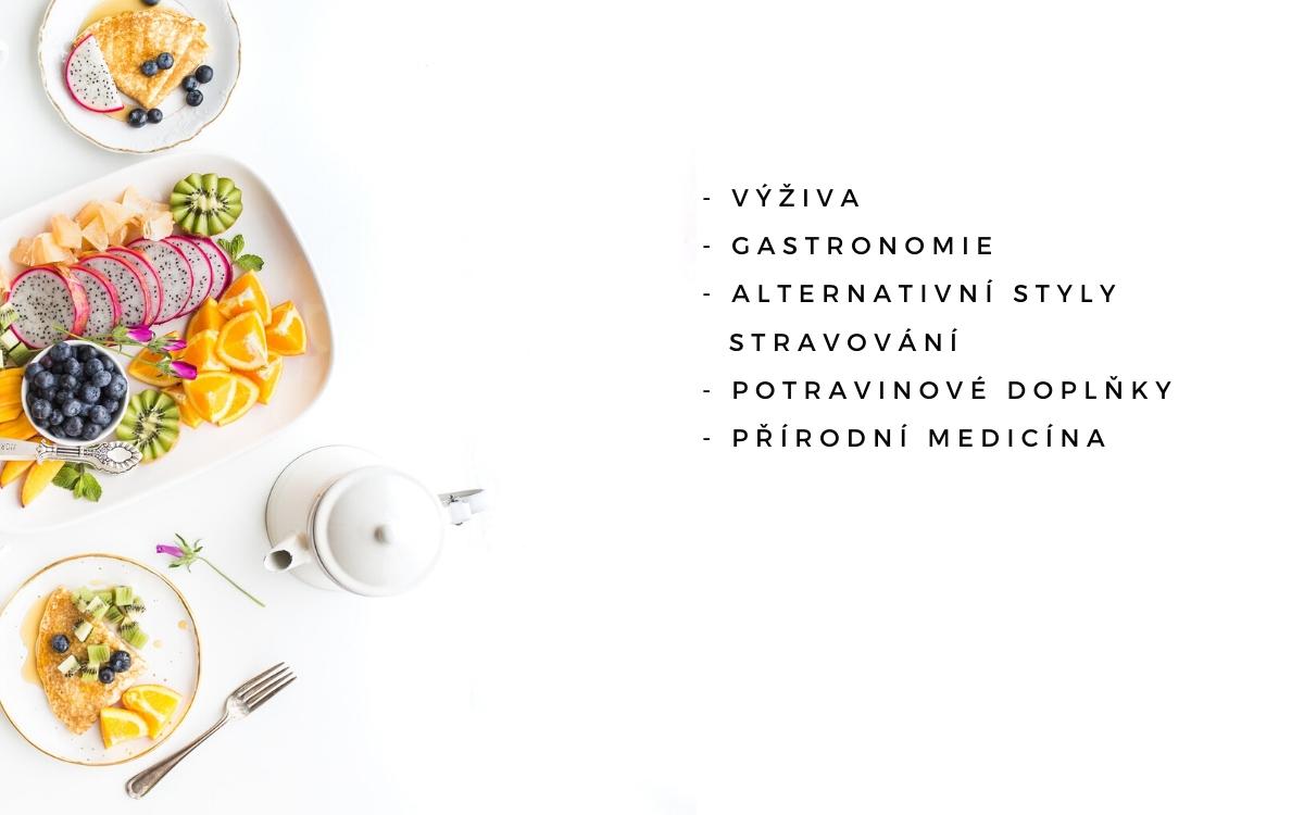 Překlady angličtiny - výživa, gastronomie, alternativní styly stravování, potravinové doplňky, přírodní medicína