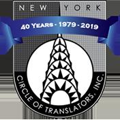 členství v profesní organizaci NY Circle of Translators